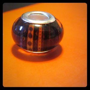 Jewelry - Murano Glass silver bracelet charms